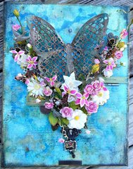 Butterfly Mixed Media Canvas - Creating Yourself