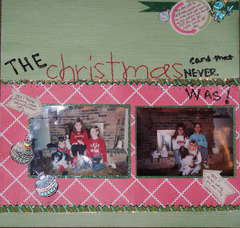 The Christmas Card That Never Was