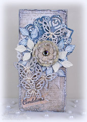 Butterfly Card with tutorial ~ DT for Donna Salazar