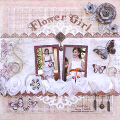 Flower Girl for Challenge Me Happy