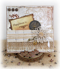 Happiness is  . . . Being with You ~ DT for Really Reasonable Ribbon