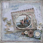 Peaceful Day by the Sea featuring Donna Salazar for the Bird is the Word Challenge