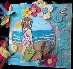 Beach Chipboard Album