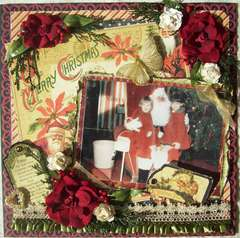 Graphic 45 Vintage Christmas Past