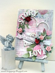 LOVE STORY / DT City Crafter Challenge Blog
