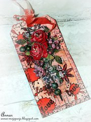 LOVE - Red Tag / Craft Szafa blog challenge