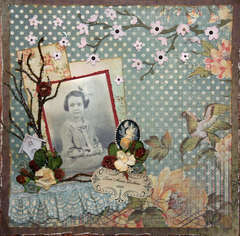 Grandma 1929 **Swirlydoos** and Bling Challenge