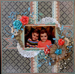 Little Darlings **Kaisercraft Feb.Saturday Sketch #3**