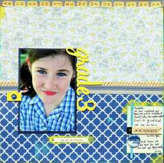 Grade 3 - Cocoa Daisy August Kit