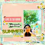 Summer Time - Cocoa Daisy September Kit