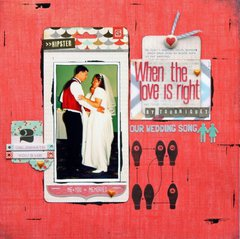When The Love Is Right - May Cocoa Daisy Kit