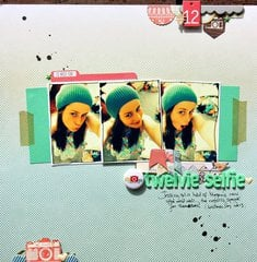Twelvie Selfie - January Cocoa Daisy Kit