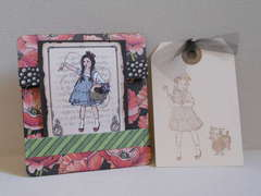 Dorothy and Toto mini card