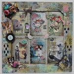 12 x 12 Wall Decor DT for Ephemera's Vintage Garden