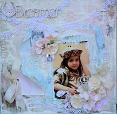 Dreamer FabScraps Layout