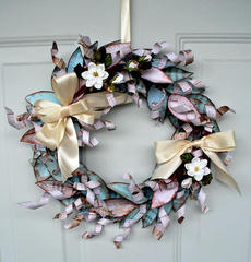 Christmas Wreath **Fabscraps**