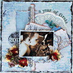 "A year of Firsts ** Scrap That! Exclusive Pion Design ""Birdsong"" Kit/TCR/OUAS **"