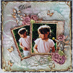 "Diva * Scrap That! October ""Bella Rosa"" Kit featuring Prima Romantique*"