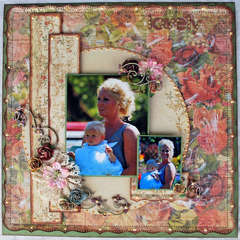 "lovely * Scrap That! October ""Bella Rosa"" Kit featuring Prima Romantique*"