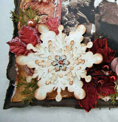 Shabby Snowflake Flower Tutorial