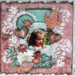 Dreamer – Fabscraps New Victoria Collection.