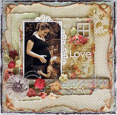 "love * Scrap That! October ""Bella Rosa"" Kit featuring Prima Romantique*"