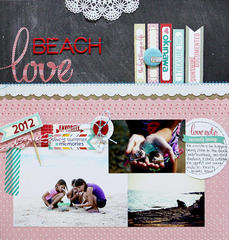 Beach Love  *Elle's Studio*