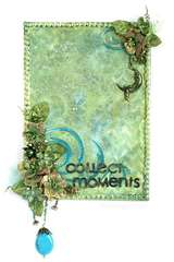 Collent Moments canvas and TUTORIAL  *** Scraps of Darkness ***