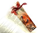 bookmark video tutorial with * Scraps of Darkness * Destinations Kit