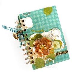 notebook using Scraps of Darkness