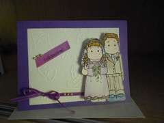 bride&groom card