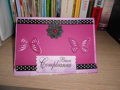 birthday card butterflies