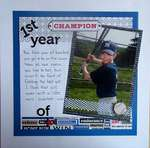 1st Year of Baseball