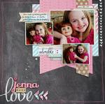 Jenna doll Love *Elle's Studio*