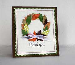 Thank you card *Pebbles Inc*