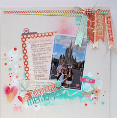 Memories - Dec Cocoa Daisy Kit