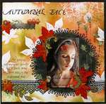 Autumnal Face (Dusty Attic May Challenge)