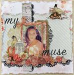 My Muse (C'est Magnifique Sketch Challenge)