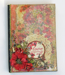 Bargain Bin Journal Transformed (Blue Fern Studios chipboard)