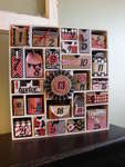 Canvas Corp Christmas Paper and Silhouette Advent Calendar