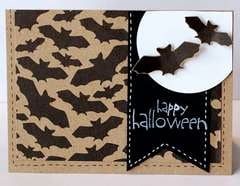 Happy Halloween card made by Kimber McGray