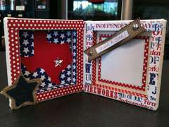 Patriotic Canvas Book