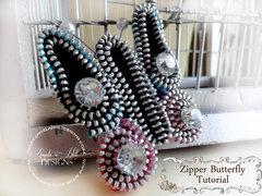 Zipper Butterfly