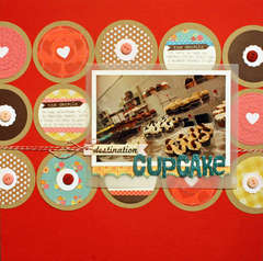 *May Elle's Studio* Destination cupcake