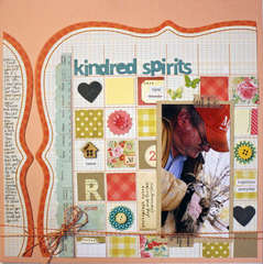 *Elle's Studio April* Kindred spirits
