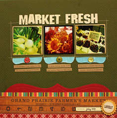 *JB Mercantile September* Market Fresh