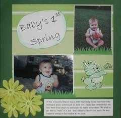Baby's 1st Spring