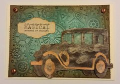 Old Jalopy Card