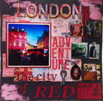 London - The City of Red ~ 7 gypsies Lille Collection ~