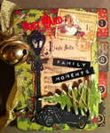Graphic 45 meets Tim Holtz mini album